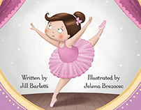 The Dance Recital - personalized picture book