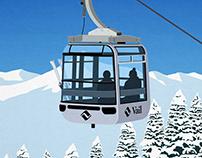 Vail Ski Resort Poster