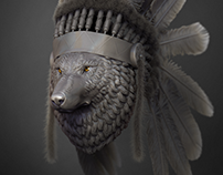 Shamanic Wolf