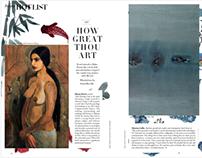 Illustration for Article for Harper's Bazaar Magazine