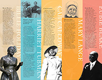 African American Heritage & Attractions Poster & Guide
