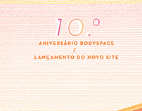 Bodyspace - 10th anniversary party | posters