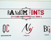Random Fonts