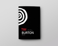 Book Design of Tim Burton Movies