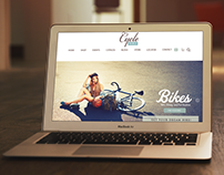 Cycle Webpage Layout