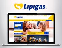 Lipigas / Sitio Web