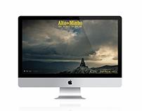 Alto do Minho | Web Design | 2012