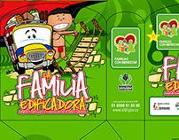 JUEGO ESCALERA LA FAMILIA EDIFICADORA