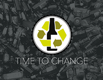 Time To Change - HK Glass Recycle Campaign