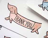 Dachshund Thank You