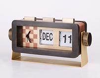 Retro#1 - table clock