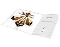 Guerlain invitation card