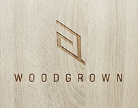 """Wood Grown"" Logo Design"