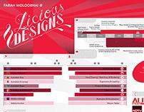 Resume Design - Infograph