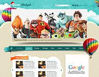 Web site design -games