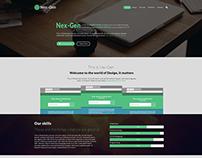 Nex-Gen(Web Layout)