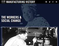 Manufacturing Victory | Exhibit Website