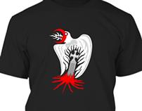 Demon Crow - T-shirt version