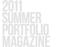 2011 Summer Portfolio Magazine