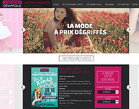 Entrepot demarque - New Website