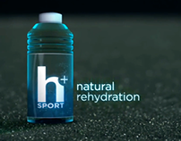 H Plus Natural Rehydration Sound Branding Design