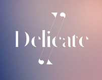 Delicate full licence typeface