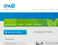 IPAC Chemicals ltd.: UI Design & Development