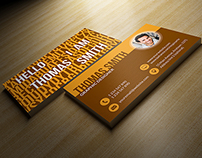 Personal Business Card - RA69