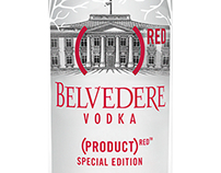 Belvedere Red // Promotional materials & Event layout