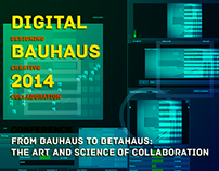 Videomapping Digital Bauhaus Summit