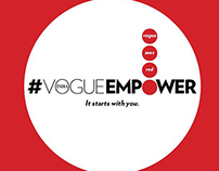 Vogue Empower Website, Cover Launch TVC & Content