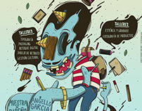 Ilustración para semana del diseño Inacap Arica