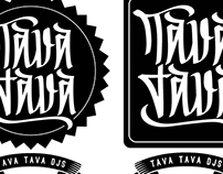 TAVA TAVA djs collective logo.