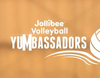 Jollibee Volleyball Yumbassadors