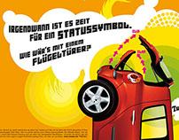 Print Campaign Renault Modus