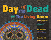 Day of the Dead Art Show Poster