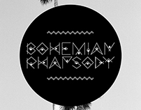 Bohemian Rhapsody Display Font