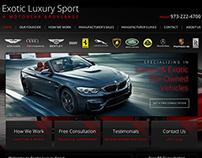 Luxury Autobroker Website