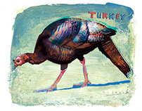 Turkey by Joseph Daniel Fiedler