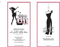 Designs for Guerlain Events