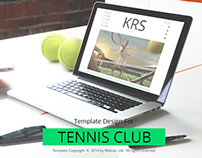 Tennis Club Template