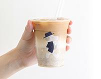 cama café ✕ QUAKER Oats Latte Visual Identity Design