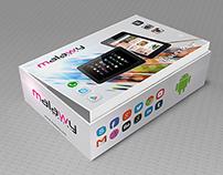 Tablet PC Packaging Design