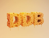 "DDBº ""Cheese Typography"""