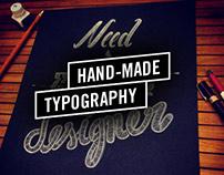 "Illustration ""Need a Graphic Designer"""