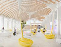 Utopia Pavilion+Apple concept store