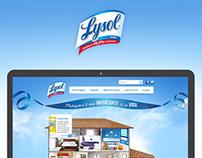 Lysol Web Site