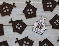 Little house magnet