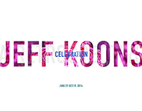 Jeff Koons Exhibition Opening