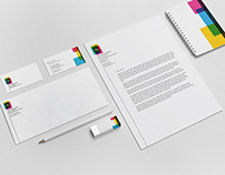 1.| A/3 Printing Office - Logo redesign & corp.id.